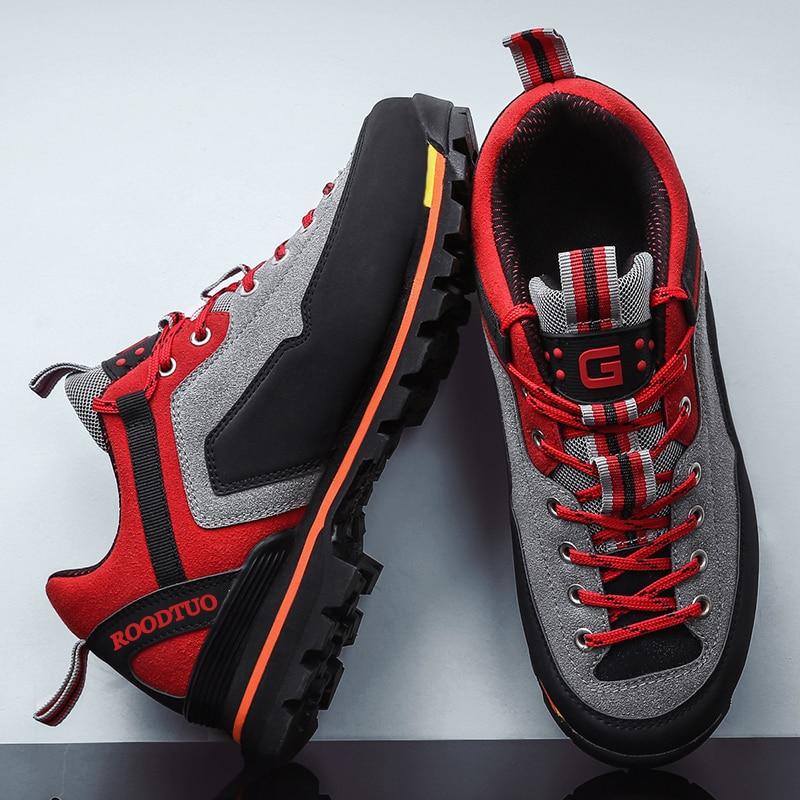 Mens Hiking Shoes 2020 Waterproof  Mountain Climbing Shoes Outdoor Hiking Boots Men Trekking Sport Sneakers Men Hunting travel
