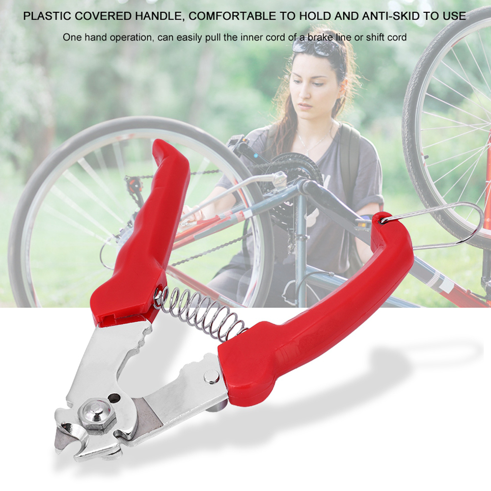 Bike Cable Pliers High Carbon Steel Bike Cable Cutter Cycling Inner Brake Gear Shifter Wire Cutting Clamp Bicycle Repair Tools