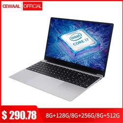 15.6 Inch Intel Core 7Gen i7 Laptop 8GB RAM 512GB SSD Windows 10 IPS FHD 1080P Notebook Dual Band WiFi Gaming Computer HDMI USB
