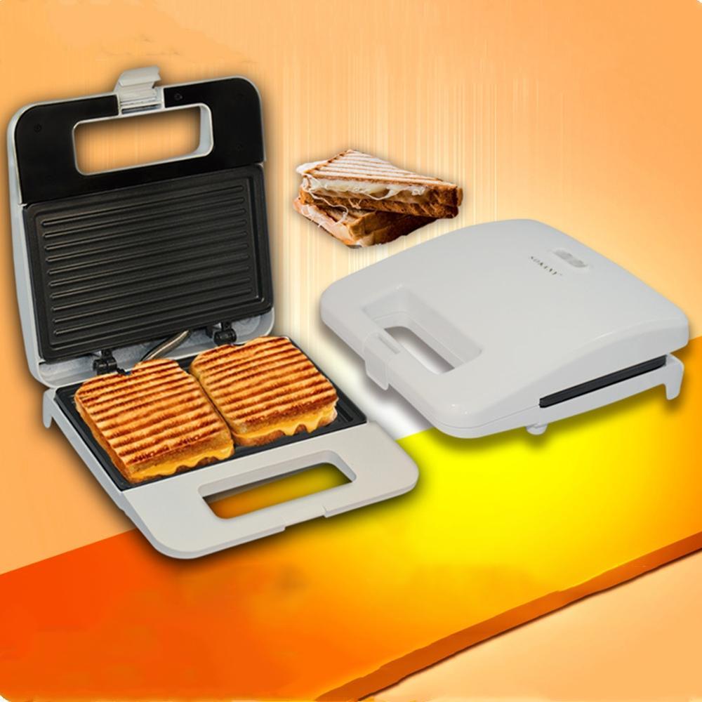 750W Electric Sandwich Maker Machine Breakfast Baking