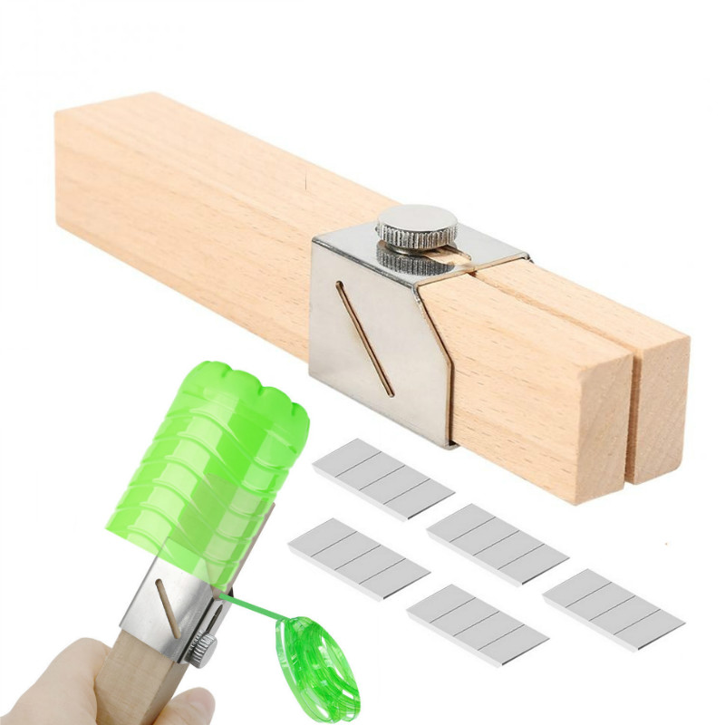 Portable Plastic Bottle Cutter W/ Spare Blade Outdoor Household  Bottles Rope Tools DIY Craft Bottle Rope Cutter Creative Tool