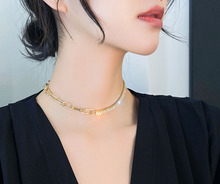 Shiny Crystal Choker Necklace rhinestone Choker Women Gold Color Zirconia Statement Necklaces Fashion Jewelry Collier Femme multicolor full rhinestone choker necklace women sexy shiny statement crystal collar necklaces bijoux gargantilla club jewelry
