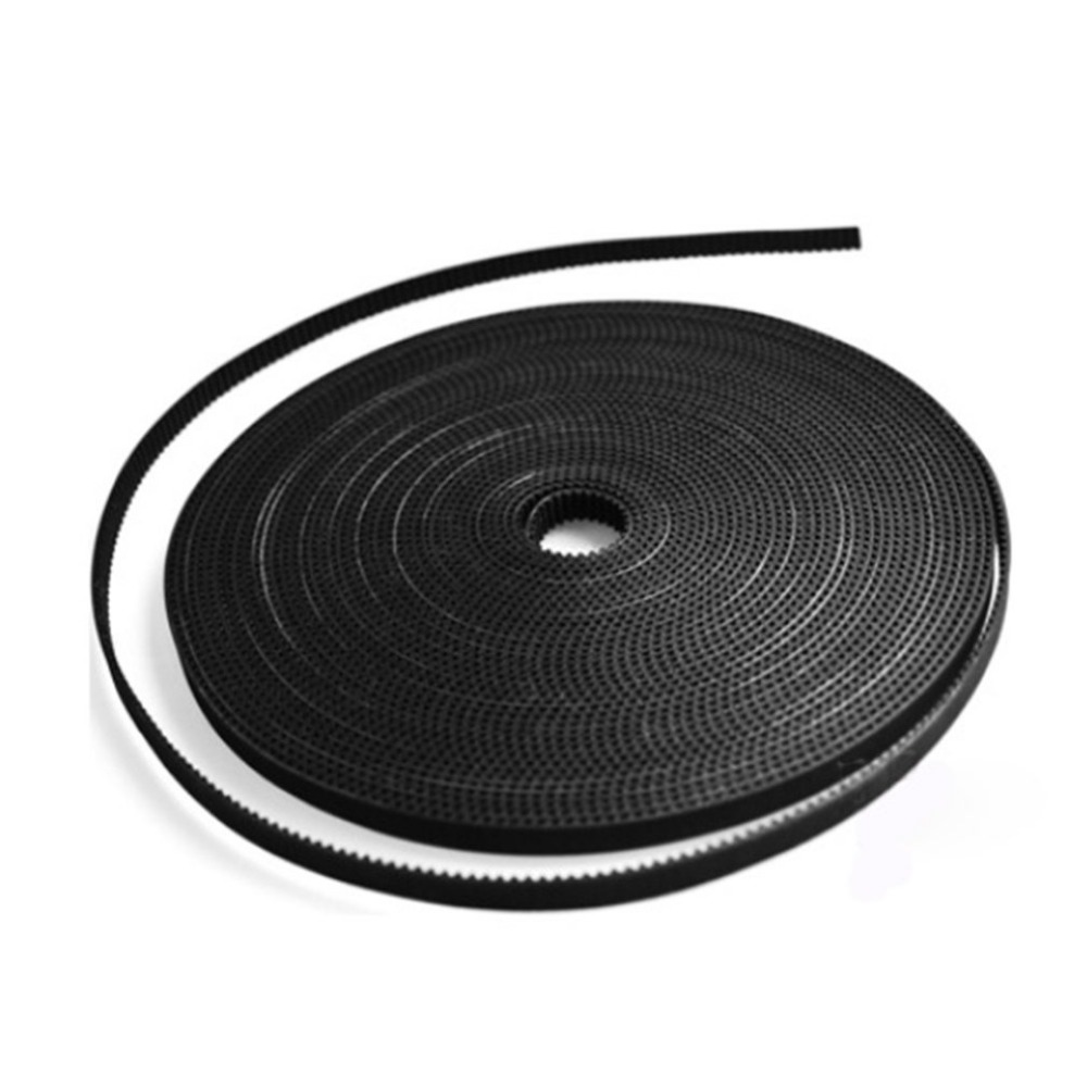 1.7M/lot 3D Printer Part Accessory GT2-6mm PU With Steel Core GT2 Open Timing Belt Wide 6mm For RepRap Mendel Rostock