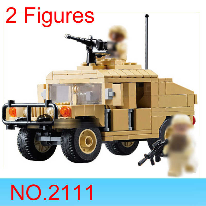 Decool 2111 2112 техника, совместимые с LEGO, Современная война военно-транспортный автомобиль Hummer конструкторных блоков, Детские кубики, игрушки, Мпц подарок