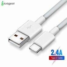 Cable USB tipo C para móvil, Cable de carga rápida para Samsung S8, S9, S10, Note 7 Redmi Xiaomi, Huawei, Xiaomi