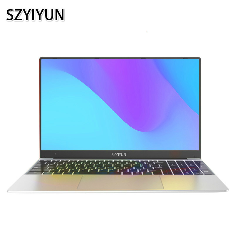 I7 Laptop Metal Body 8GB RAM Full Layout Backlit Keyboard Gaming Notebook Portable Business Office PC Computer Netbook ноутбук
