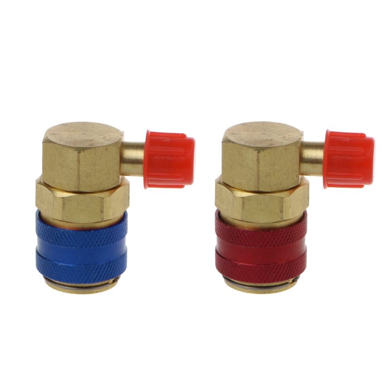 Car /& Truck Parts Air Conditioning A//C Quick Coupler Adapter R134A Connector
