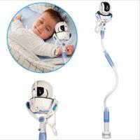 Multifunction universal suporte do telefone cama preguiçoso berço longo braço ajustável 85cm monitor do bebê suporte de montagem na parede