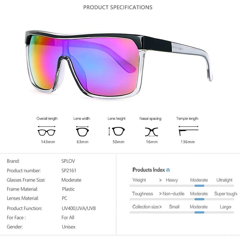 New Oversized Sunglasses Men Women Big Frame Sun Glasses Retro Rectangle Flat Shades Vintage Eyewear Fashion Trendy UV400