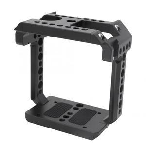 Image 5 - Acessório handheld da gaiola da fotografia exterior da câmera da liga de alumínio para a câmera de z cam e2