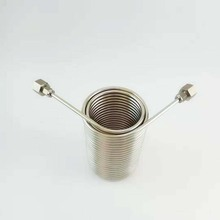 Free shipping 50 Stainless Steel Coil 5 Diameter beer coil cooler for your homebrew make jockey by self