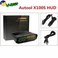 AUTOOL X100 Universal Car Heads UP Display X100S Autos HUD Headup Multifunction Smart Digital Meter Vehicle Speedometer KM/H
