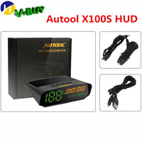 Autool x100 범용 자동차 헤드 업 디스플레이 x100s 자동차 hud 헤드 업 다기능 스마트 디지털 미터 차량 속도계 km/h