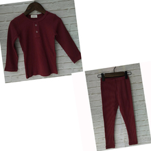 Новое поступление 2019, одежда для мальчиков и девочек hitomic, Детский комплект в рубчик, приталенный с длинным рукавом, детская мягкая осенне зимняя ткань
