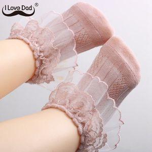 0-3 Years New Princess Baby Girl Socks Lace Ruffle Kids Girls Socks Newborn Infant Baby Socks Meia Infantil(China)