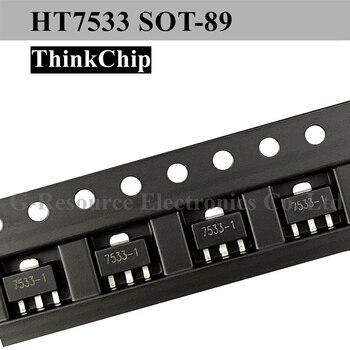 (20 adet) HT7533-1 S0T-89 7533 SMD sabit LDO voltaj regülatörü, 4V 24V, 100mV bırakma, 3.3V/100mA çıkışı, SOT-89-3