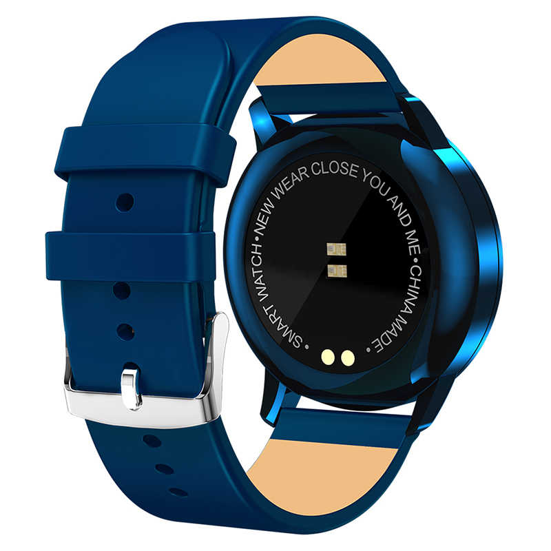 Смарт-часы Timewolf Q8 OLED цветной экран фитнес-трекер монитор сердечного ритма Bluetooth IP68 Водонепроницаемые умные часы Q8