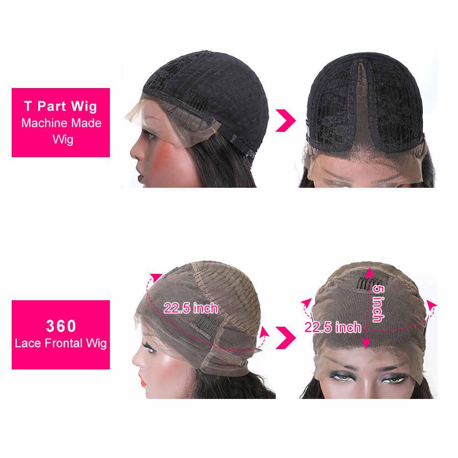 Прозрачный 360 кружевной передний al парик с волнистым кружевом фронтальные человеческие волосы парики для черных женщин Remy бразильские прозрачные кружевные парики