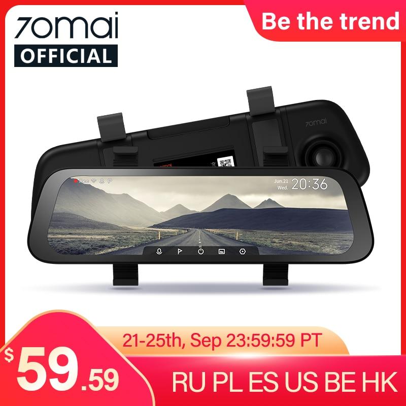70mai Auto Dvr Breed 9.35Inch Scherm Achteruitkijkspiegel Streamen Media Dash Cam 1080P 130FOV 70MAI Spiegel Auto Recorder Rear view Auto Recorder