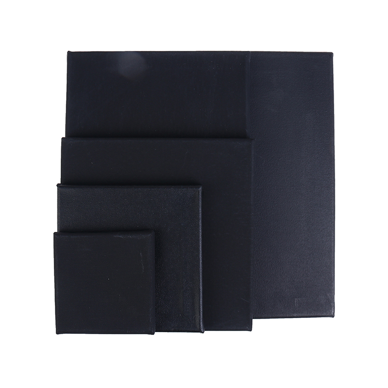 1pc Blank Square Artist Canvas For Oil Painting Wooden Board Frame For Primed Oil Acrylic Paint