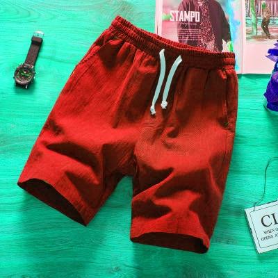2019 Fashion men short pants cotton shorts Calf-Length Fitness Casual workout sporting short pants Summer Sportswear short