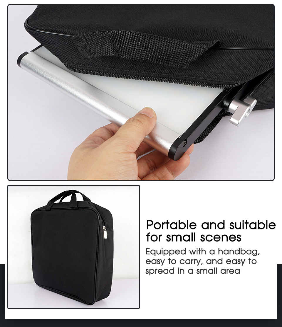 H4e7f4ce35f3e4cf2ad05a26000ca9551W Travor Dimmable Bi-color 2set LED Video Light Kit with U Bracket 3200K-5600K CRI96 and Bag for Studio Photography Video Shooting