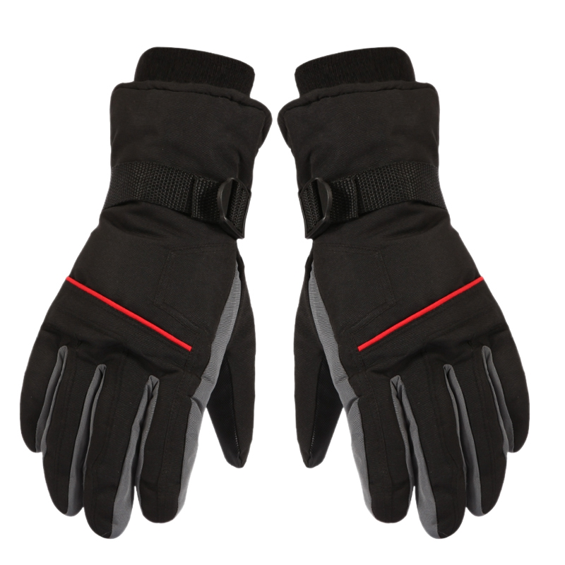 Extra Thick Ski Gloves Winter Snow Outdoor Sport Men Warm Snowmobile Motorcycle Waterproof Snowboard