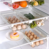 XiaoGui Egg Box Egg Holder Organizer Drawers Food Container Fruits And Vegetables Box Storage Plastic