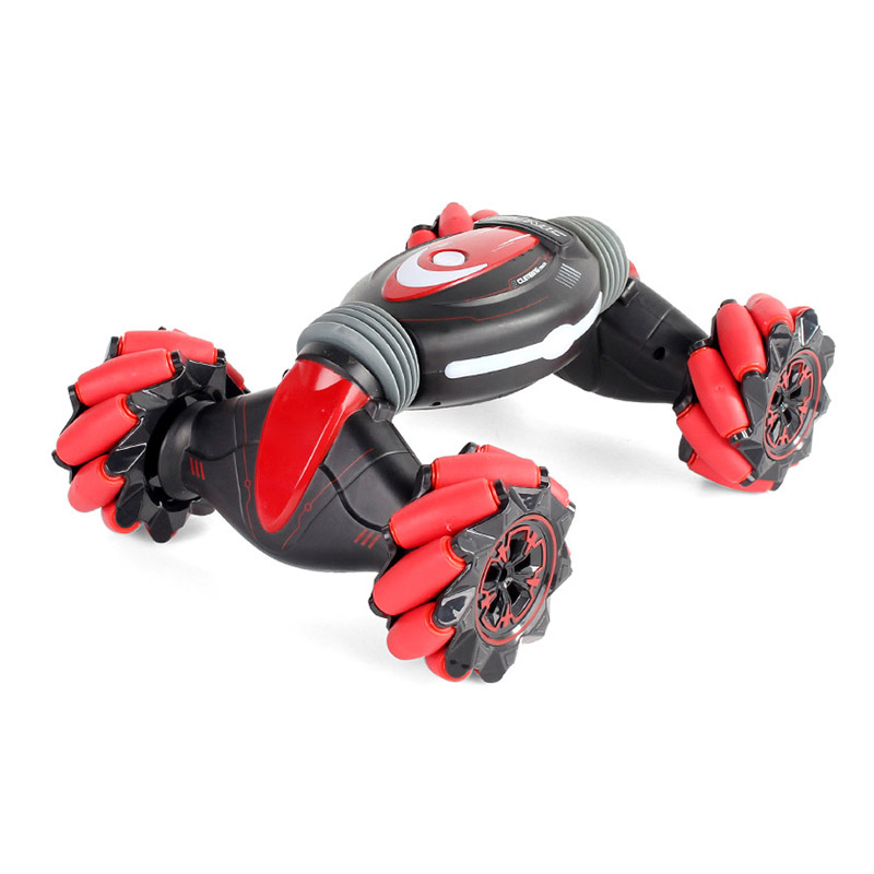 2020 New Gesture Control Double-Sided Stunt Car Gesture Sensing Twisting <font><b>RC</b></font> Deformation Car Vehicle <font><b>Drift</b></font> Toy Gifts image