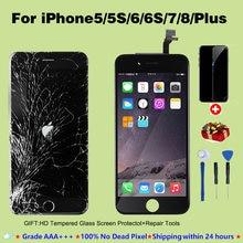 ЖК дисплей для iphone 6 6s 7 8 plus сменный сенсорный экран