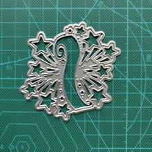 Banner Metal Cutting Dies Star Decoration 2020 New DIY Scrapbooking Frame Die Craft Embossing