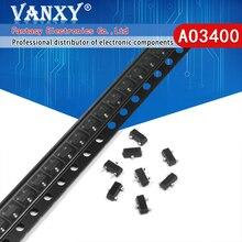 50PCS AO3400 SOT23 AO3400A SOT-23 A09T SOT new MOS FET transistor