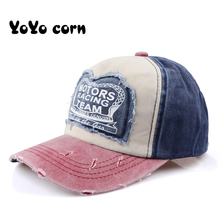 YOYOCORN Spring Cotton Cap Baseball Snapback Hat Summer Hip Hop Fitted Hats For Men Women Grinding Multicolor