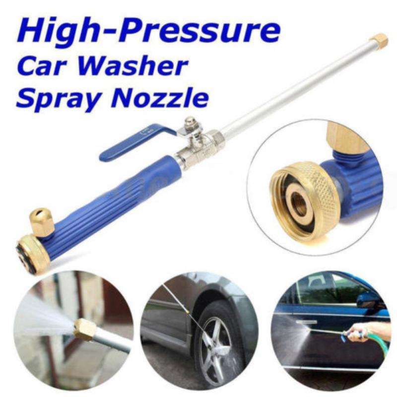High Pressure Water Gun Car Washer Jet Lance Nozzle Water Hose Wand Attachment For Car Garden Irrigation Tools Car Cleaning Tool