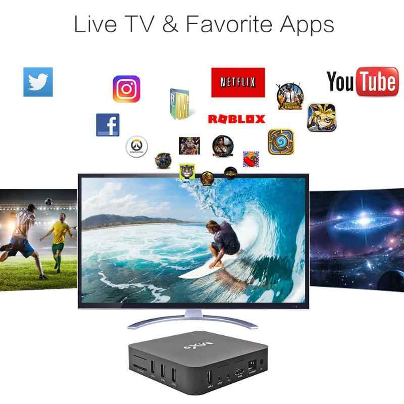 1PCใหม่คุณภาพสูง 4K Quad Core 1GB RAM 8GB ROM Android 4.4 TV BOX 2.0 HD HDMI SD 2.4GHz WIFI Set Top Box Media Player
