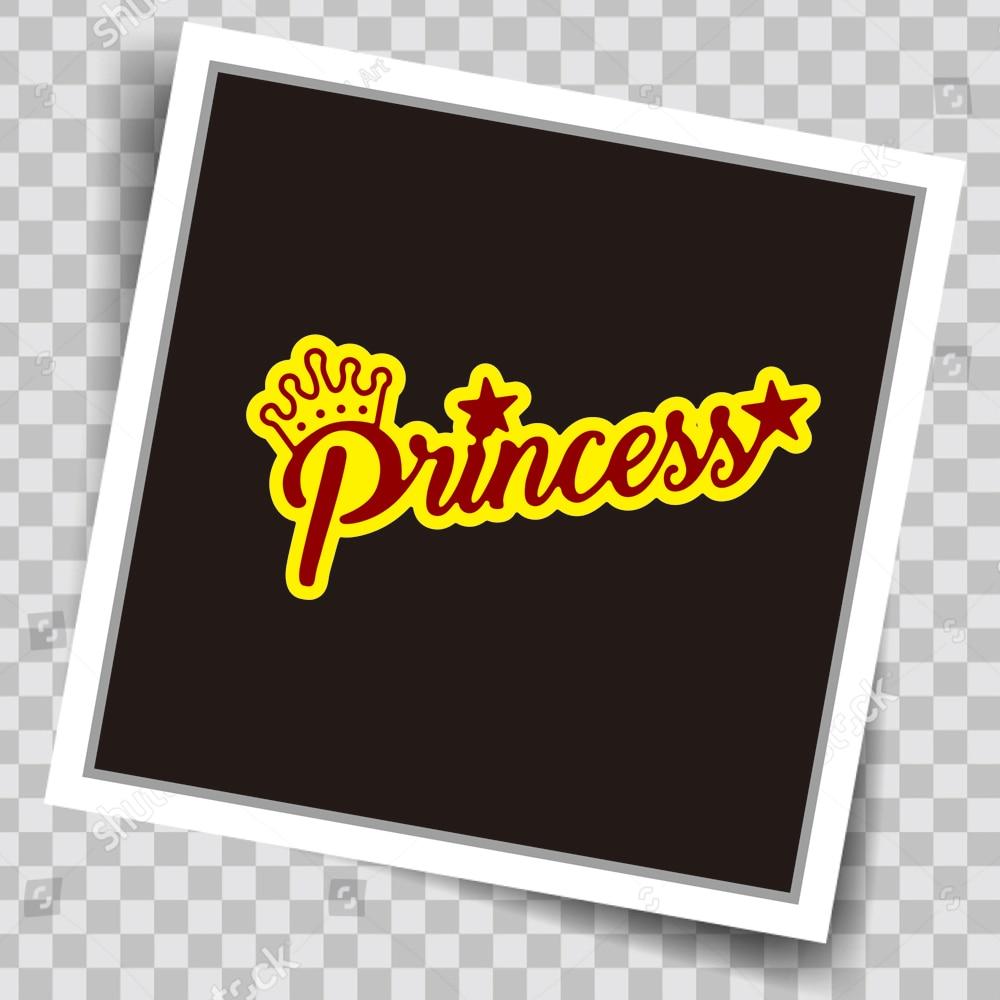 Princess Font Metal Cutting Dies Photo Album Decor Embossing Cards Making Scrapbooking DIY Paper Crafts