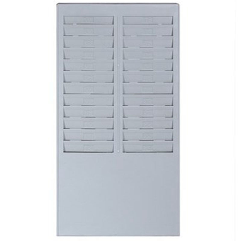 Attendance Card Time Card Rack Plastic Wall Mounted Cards Holder Attendance Holder For Time Cards Machine
