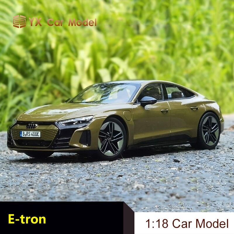 [해외] NOREV 1 18 AUDI RS E TRON 전기 슈퍼카 아우디 E TRON GT 자동차 모델 - NOREV 1 18 AUDI RS