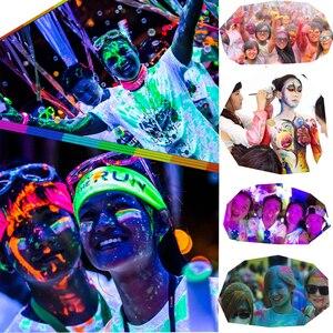 Image 3 - Biutee 12Colors Glow in dark pigment powder with UV Lamp Neon Colour Paint Fluorescent Powder Epoxy Resin Luminous 20g/Bottle