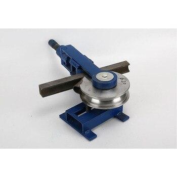 Dobladora Manual de tubos, herramienta de molde para doblar tubos redondos de 180 grados, dobladora de tubos de hierro Cooper en forma de U