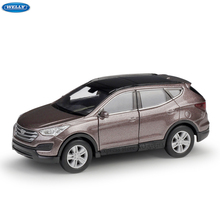 WELLY 1:36 Hyundai Santafe simulation alloy car model machine Simulation Collection toy pull-back vehicle недорого
