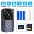 ZILNK Умный домашний дверной звонок wifi беспроводной видеодомофон дверной звонок камера монитор батарейный пульт дистанционного управления ...