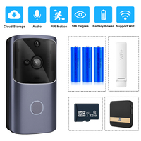 ZILNK Smart Home Doorbell WIFI Wireless Video Intercom Door Bell Camera Monitor Battery Powered Remote Control iOS Android