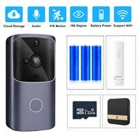ZILNK Smart Home Doorbell WIFI Wireless Video Intercom Door Bell Camera Monitor Battery Powered Remote Control iOS Android