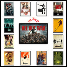 Hot New The Walking Dead Stagione 8 carta patinata bianca Poster Wall Art Wall Decor Art Poster dipinti per soggiorno