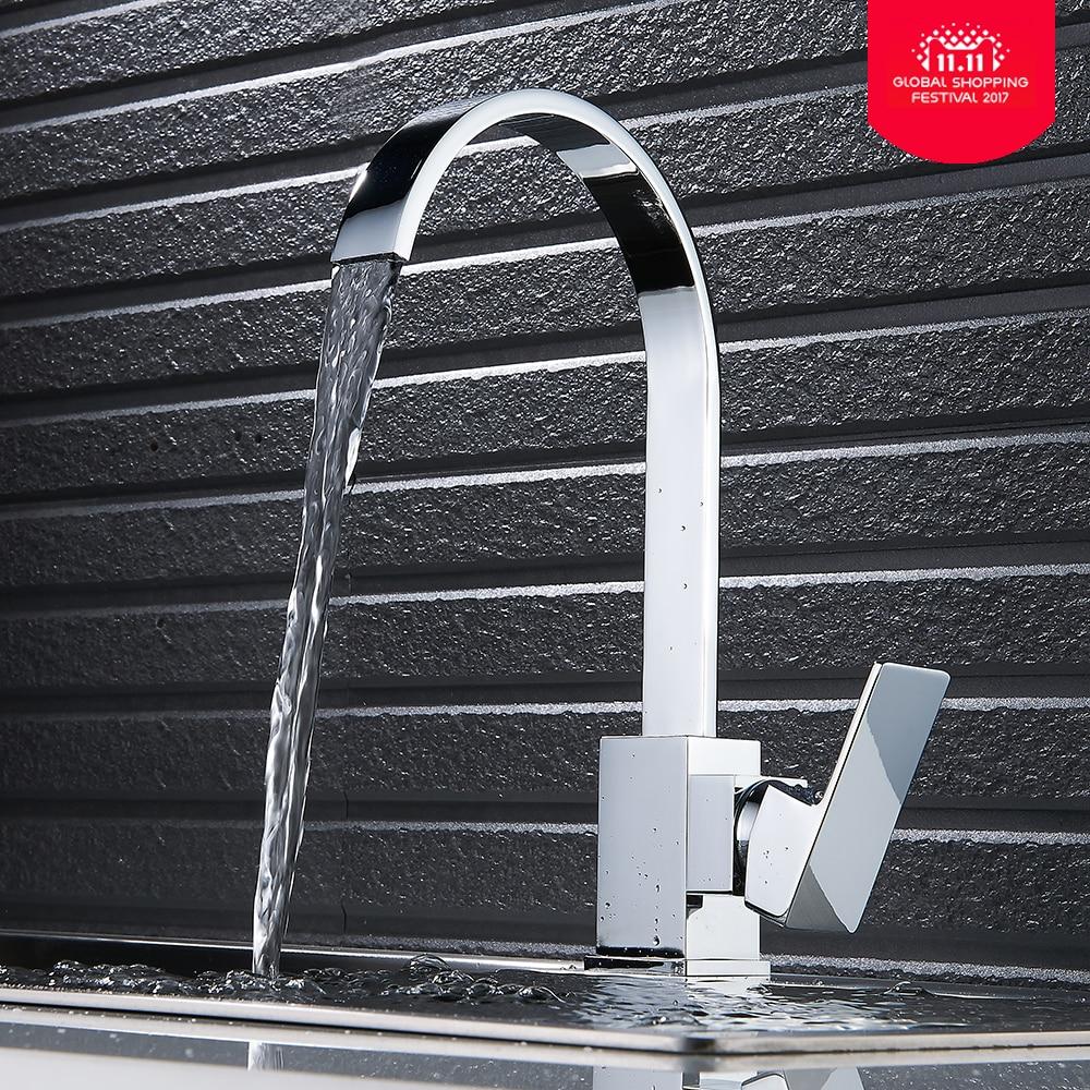 Torneira Cozinha Waterfall Faucet Hot Cold Water Tap Kitchen Sink  Faucet Kitchen Taps 360 Swivel Kitchen Mixer Tap