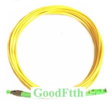 Fiber Patch Cord Jumper Cable E2000-FC FC-E2000 APC SM Simplex GoodFtth 1-15m