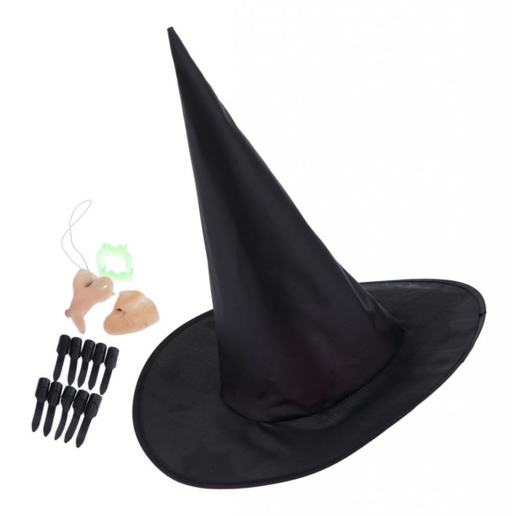 Harry Magic Cap Adult Womens Witch Hat For Halloween Party Costume Accessory Cap
