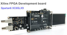 FPGA Development Board Xilinx Spartan-6 XC6SLX9 Card with 256Mb SDRAM SD Card Camera VGA and AD/DA LCD TFT