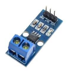 10 sztuk Acs712 20A zakres moduł czujnika prądu hall Acs712 moduł 20A Acs 712 3Pin w Moduły bezprzewodowe od Elektronika użytkowa na